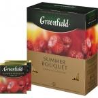 Чай Greenfield Summer Bouquet, фруктовый, пакетированный